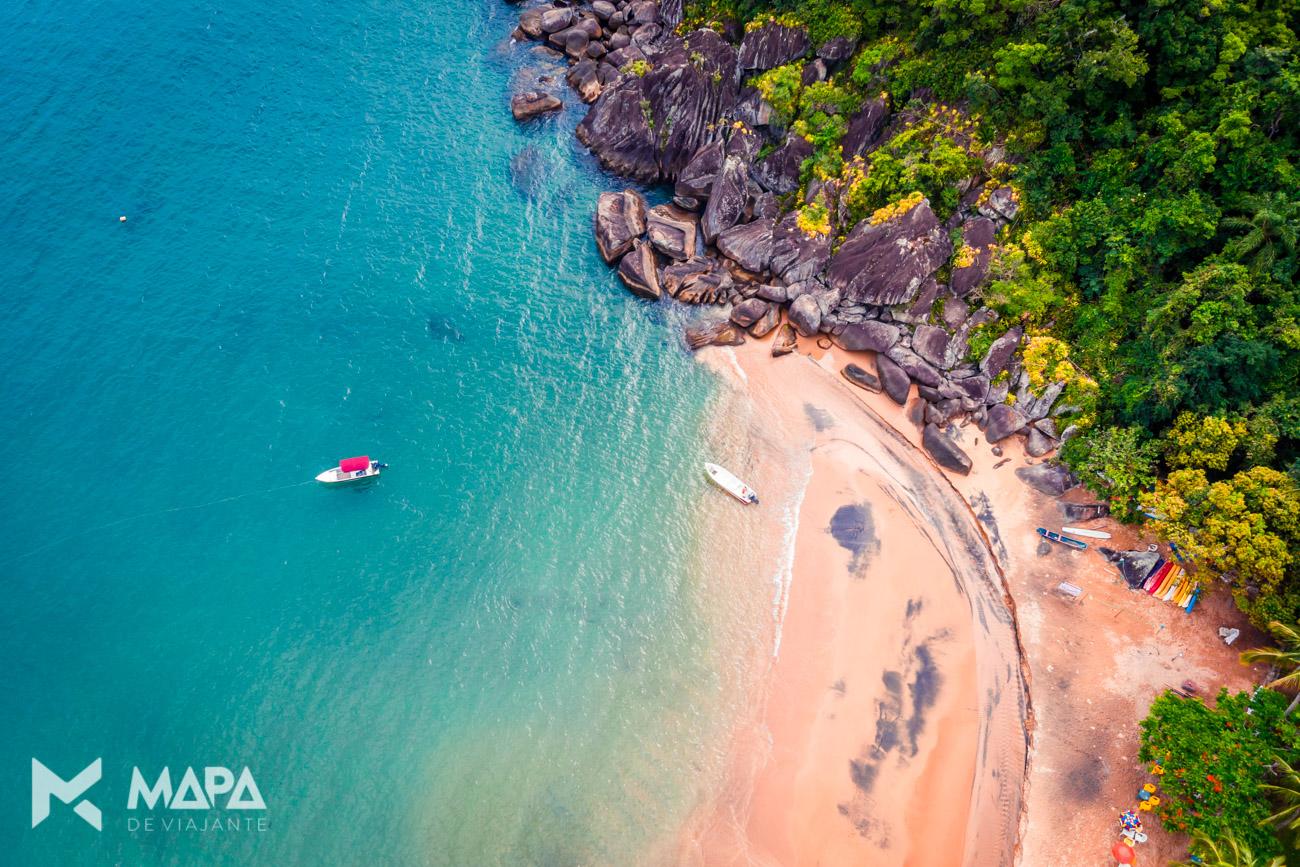 Praia do Jabaquara - Excursões em um navio cruzeiro