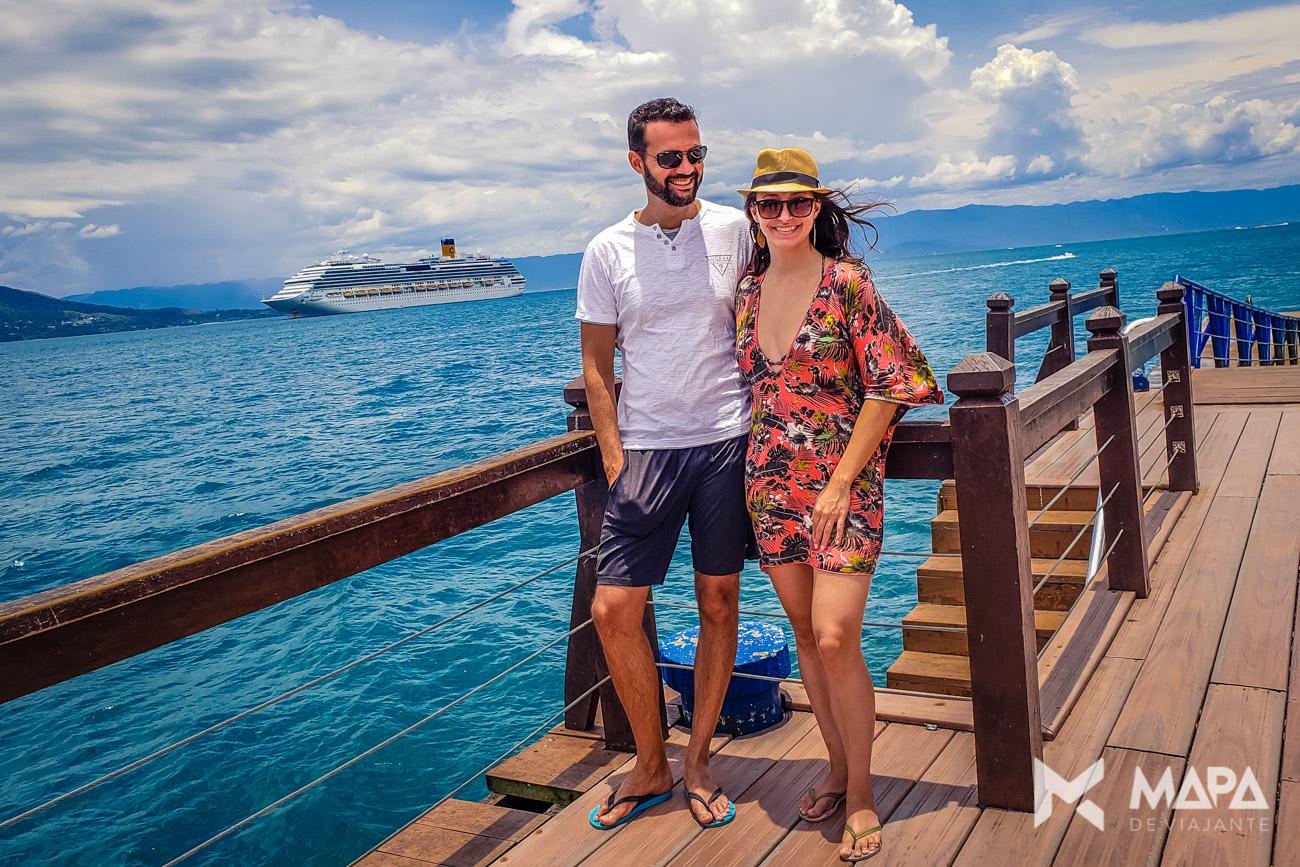 Ilhabela - Excursões em um navio cruzeiro