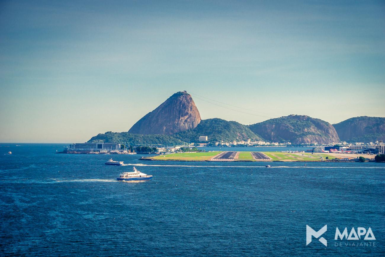 Pão de Açucar visto do Costa Favolosa - Rio de Janeiro/RJ