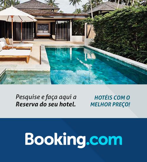 Reserve aqui o seu hotel!