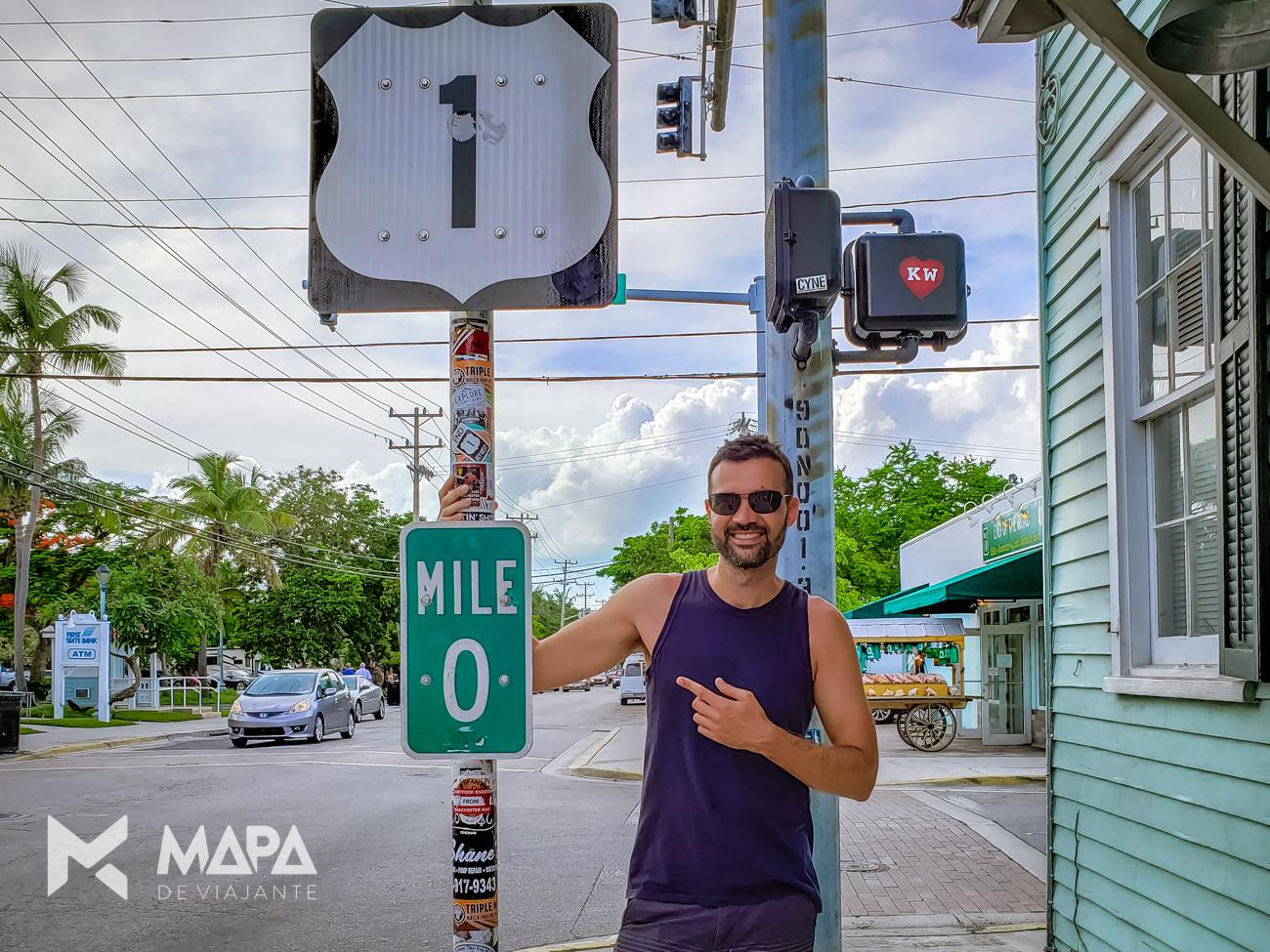 Como chegar em Key West