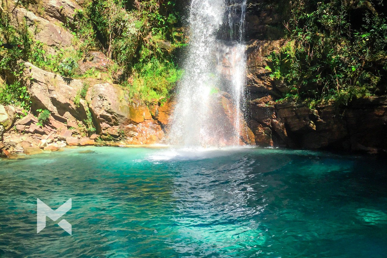 Cachoeira Santa Barbara, Cavalcante - GO Pra onde viajar Junho
