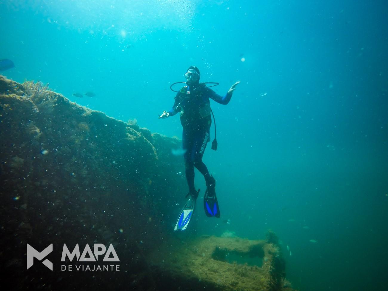 Mergulho em Ilha Grande