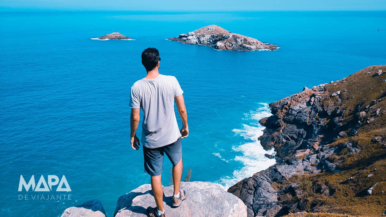 Trilha até o Lago do Amor em Arraial do Cabo