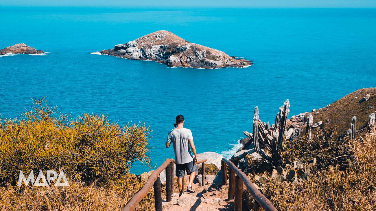 Escada dos Desejos em Arraial do Cabo