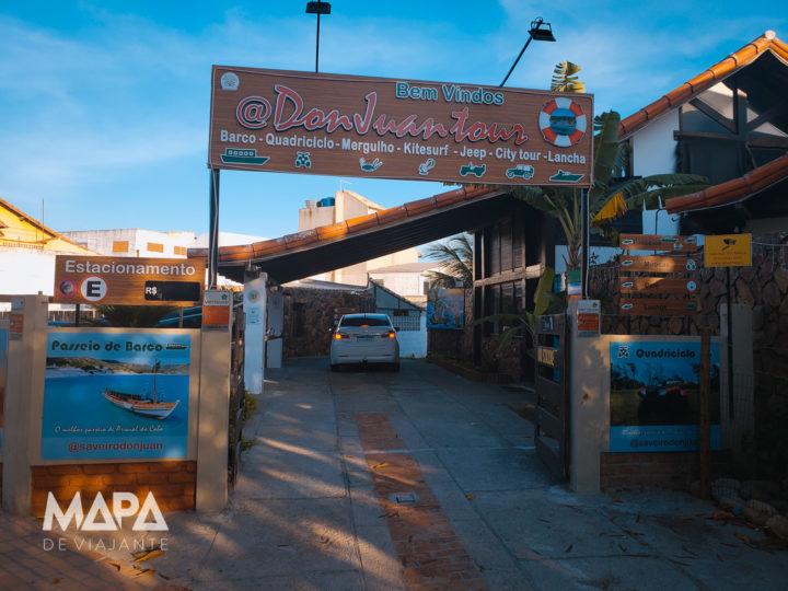 Loja da Don Juan Tour em Arraial do Cabo