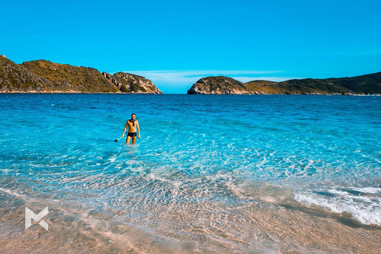Praia do Farol em Arraial do Cabo
