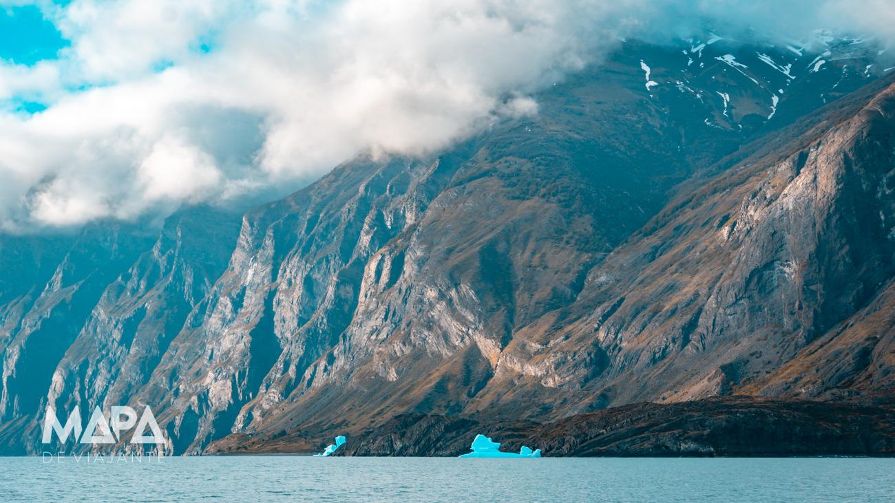 Mapa de Viajante: Lago Argentino em El Calafate