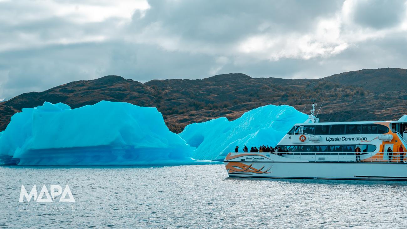Mapa de Viajante: Lago Note Argentino