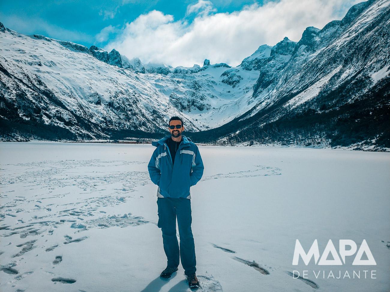 Laguna Esmeralda Ushuaia o que fazer patagônia