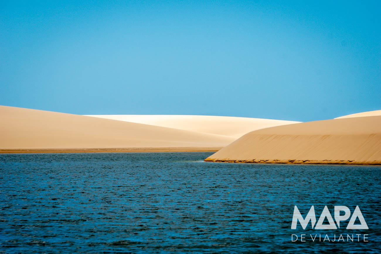 Lagoas no Canto de Atins Lençóis Maranhenses