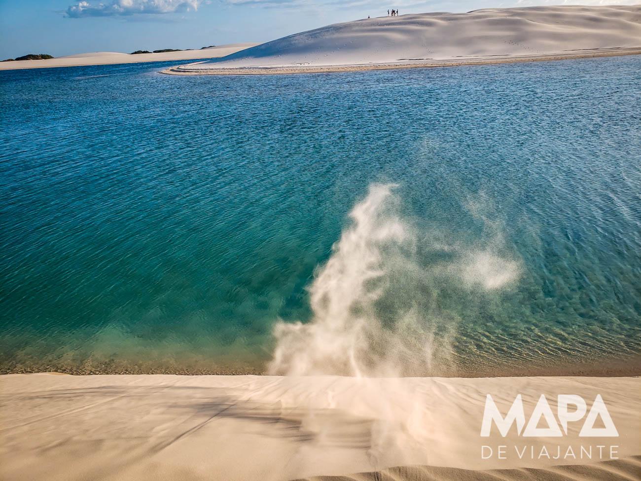 Lagoas de Atins Lençóis Maranhenses