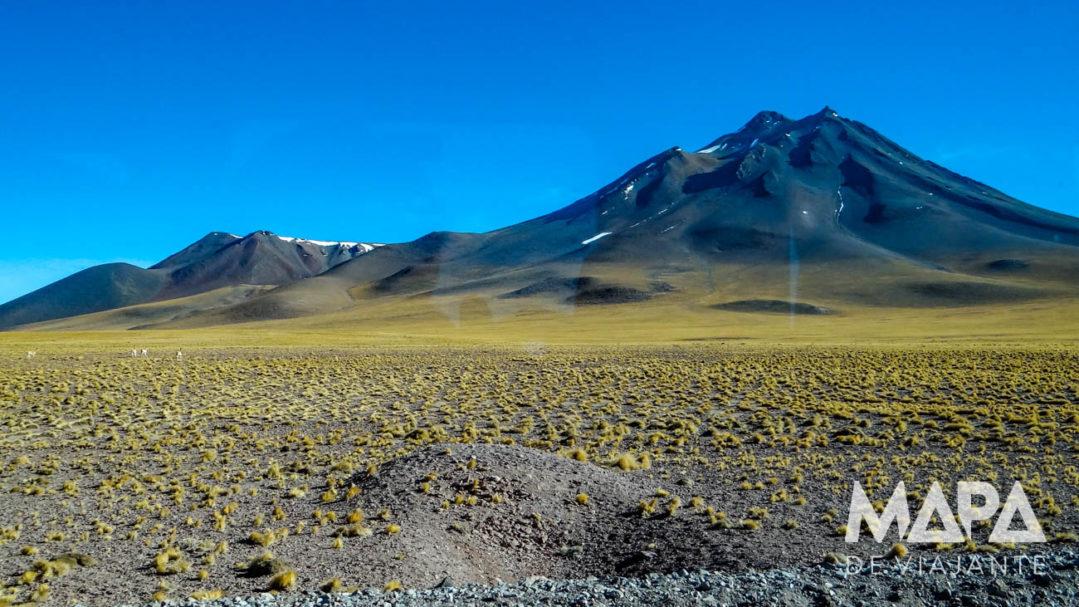 Deserto do Atacama Chile Mapa de Viajante