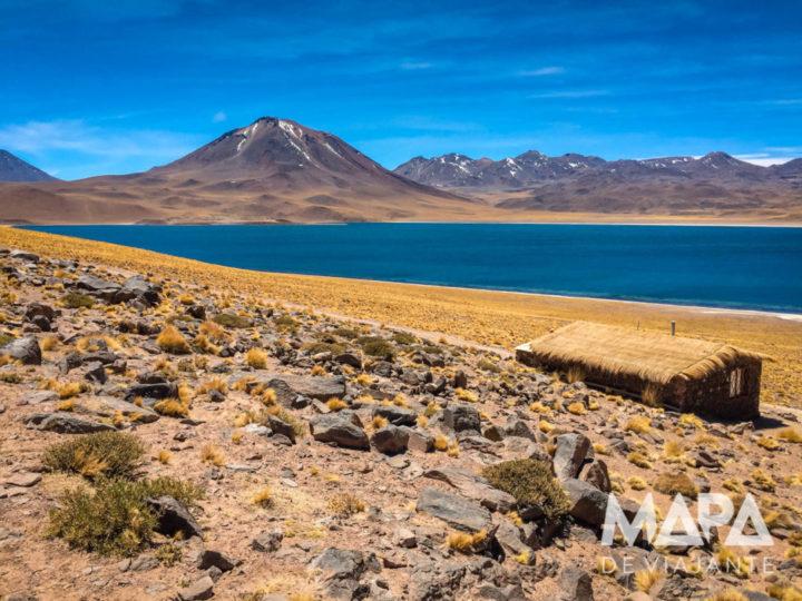 Mapa de Viajante Lagunas Altiplânicas Lagoa Miscanti