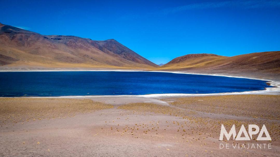 Lagoa Meniques Deserto do Atacama
