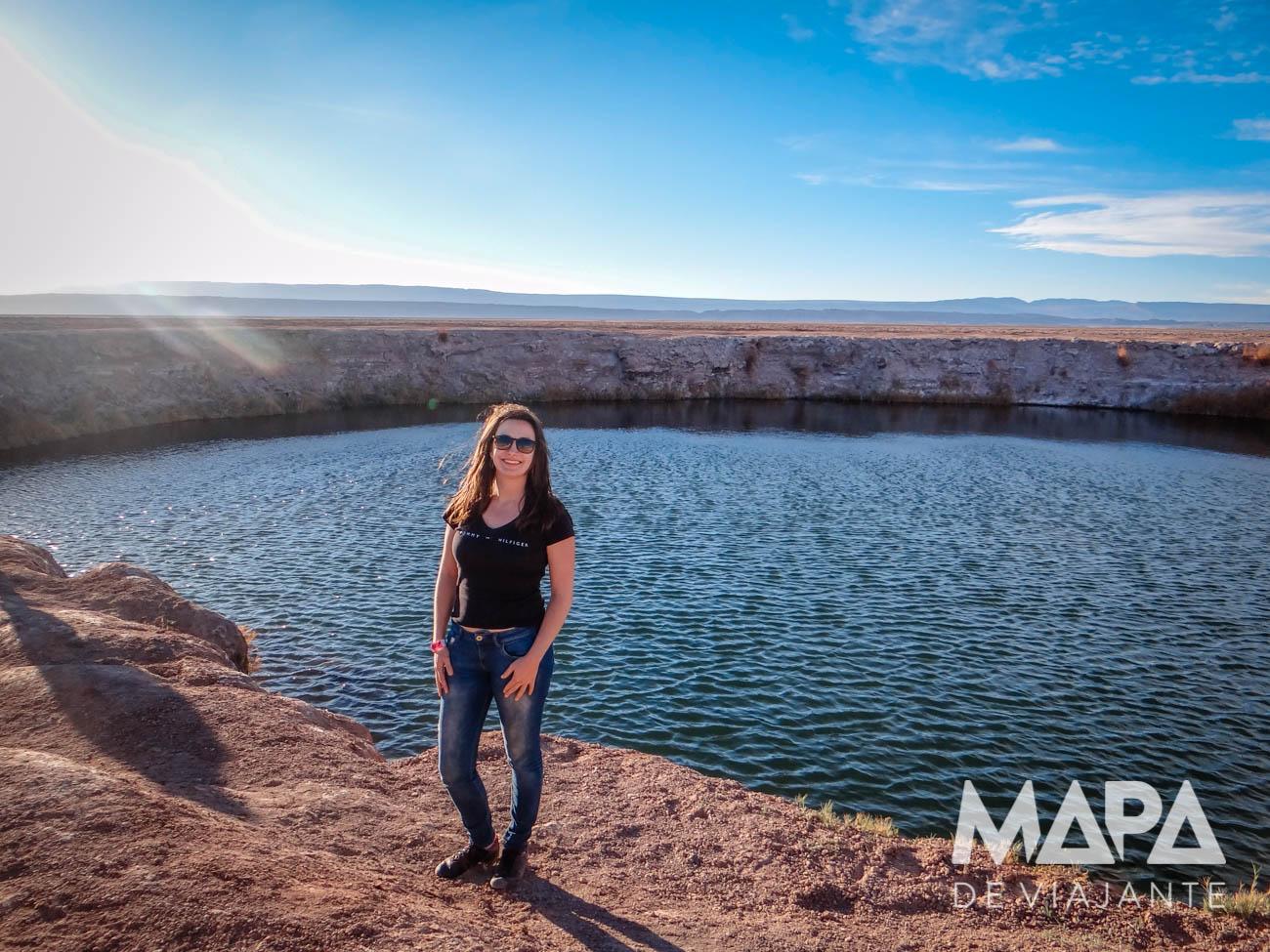 Olhos do Salar no Atacama