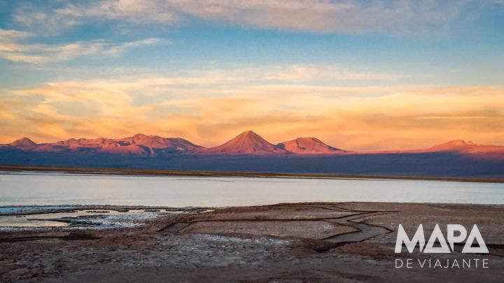 Pôr-do-sol na Lagoa Tebinquiche