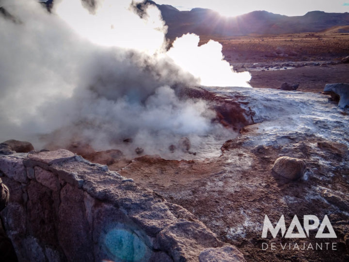 Geyser el Tatio Deserto do Atacama