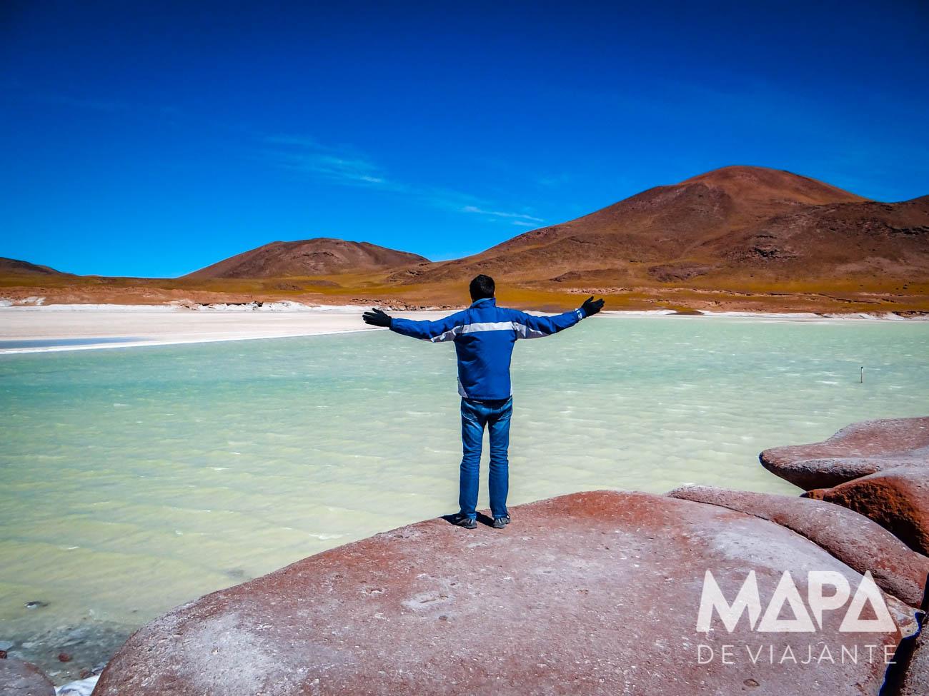 Lagunas Altiplânicas Piedras Rojas