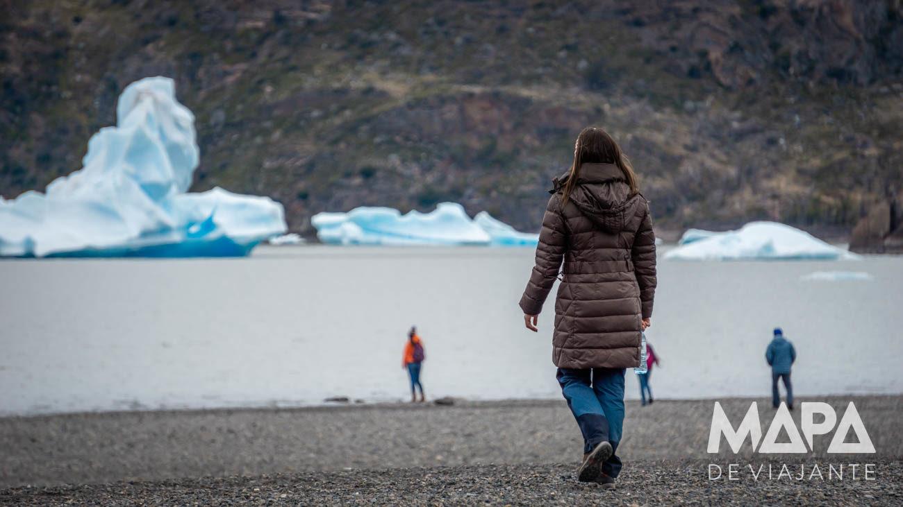 Lago Grey Parque Torres del Paine Chile