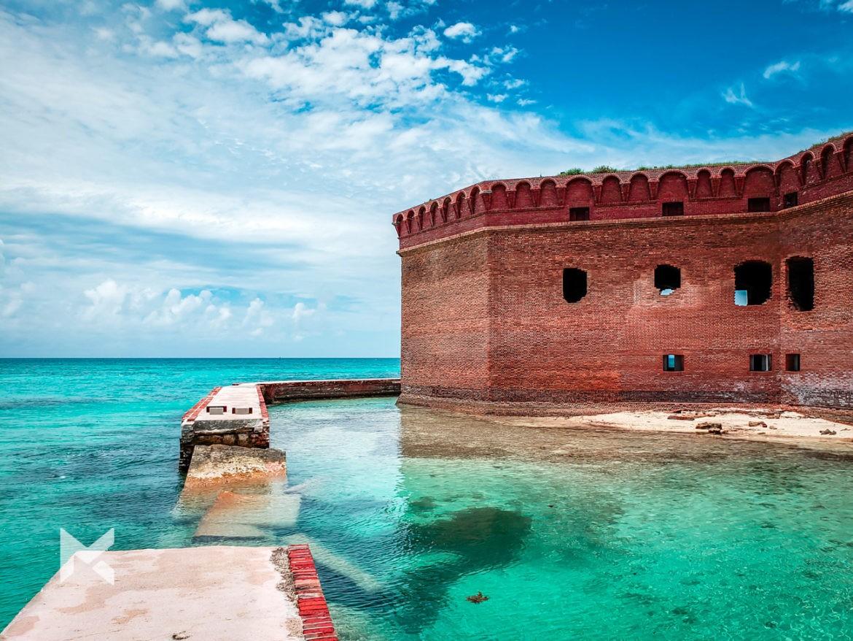 Dry Tortuga Fort Jefferson Key West Florida EUA