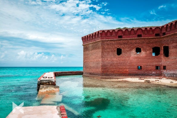 Dry Tortuga Fort Jefferson Key West Florida EUA