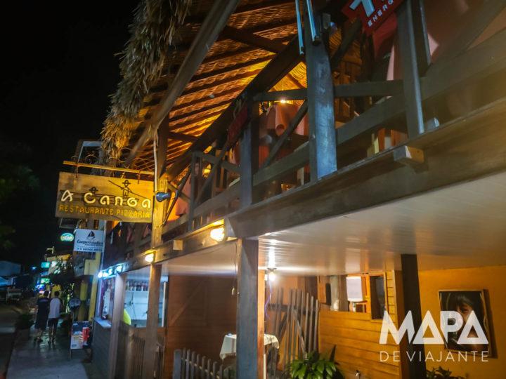 Restaurante A Canoa em Barreirinhas