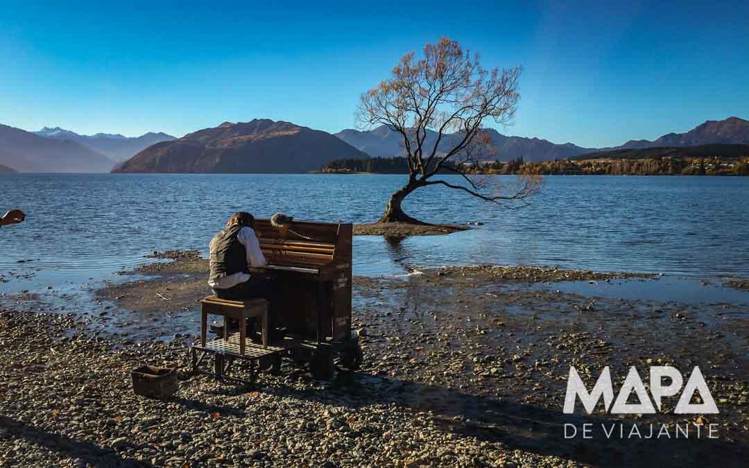 O que fazer Nova Zelândia lago Wanaka