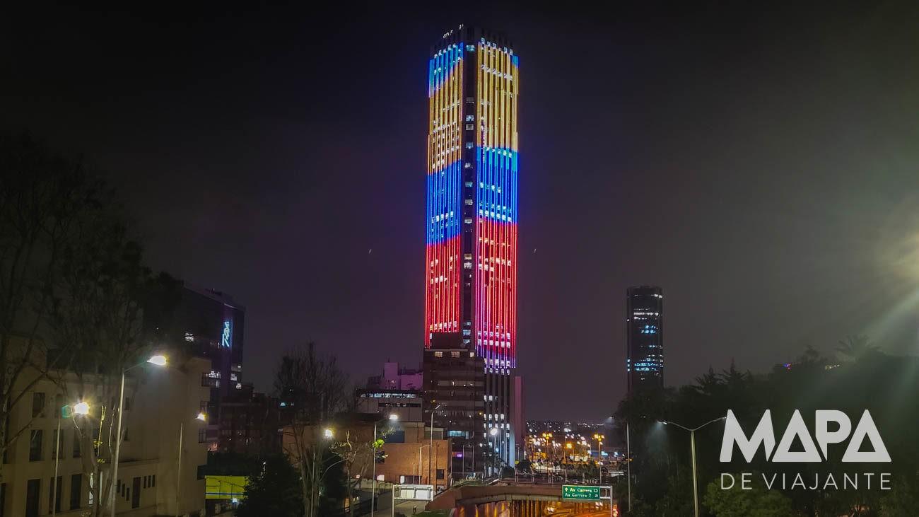 O que fazer em Bogotá Torre Colpatria