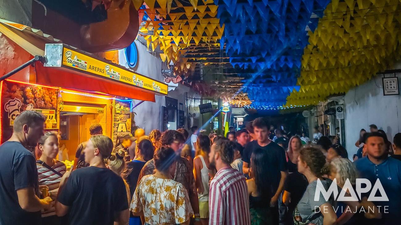 Noite em Cartagena das Índias