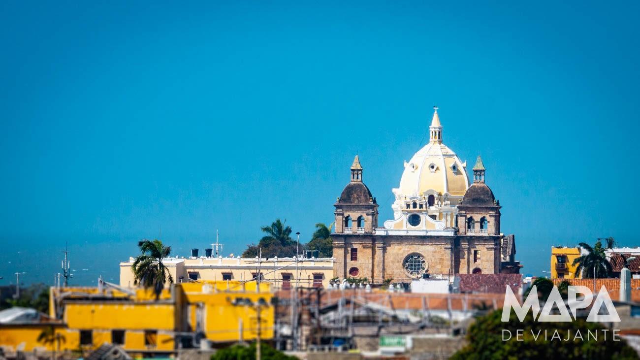 Cidade de Cartagena das Índias na Colômbia