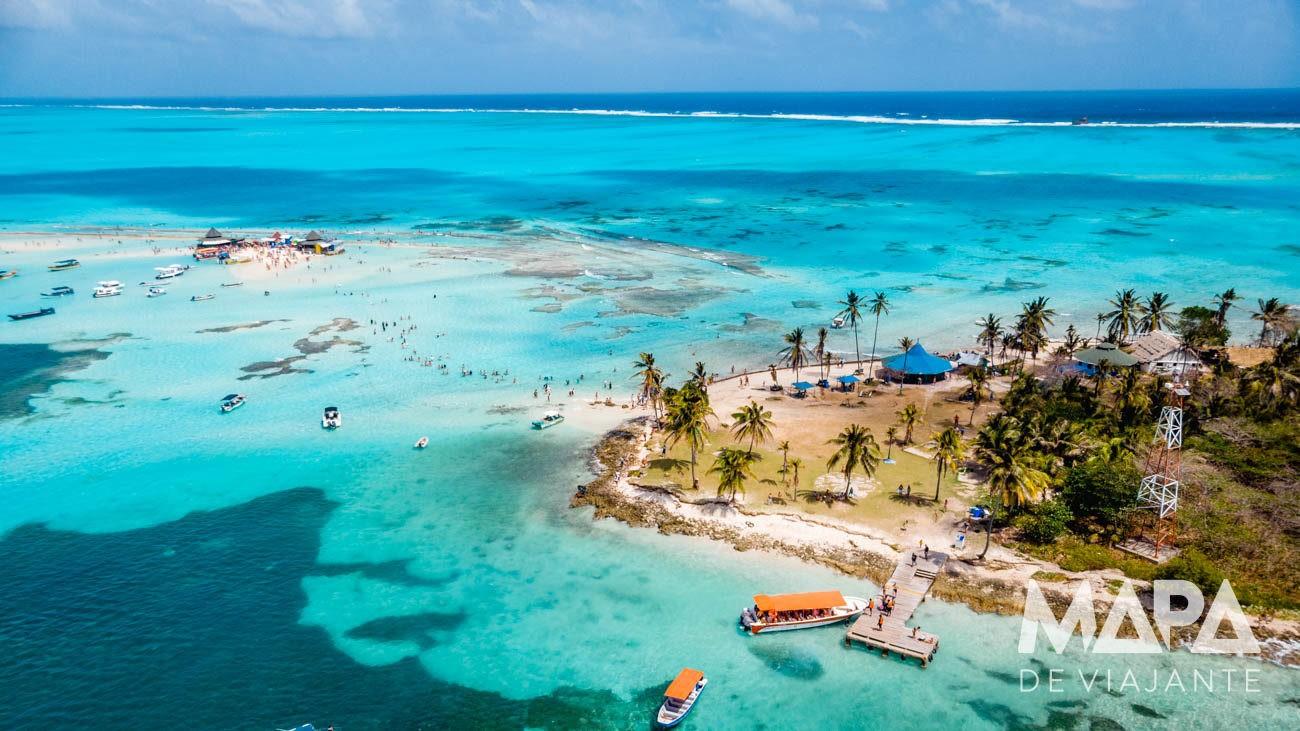 Isla El Acuario Mapa de Viajante