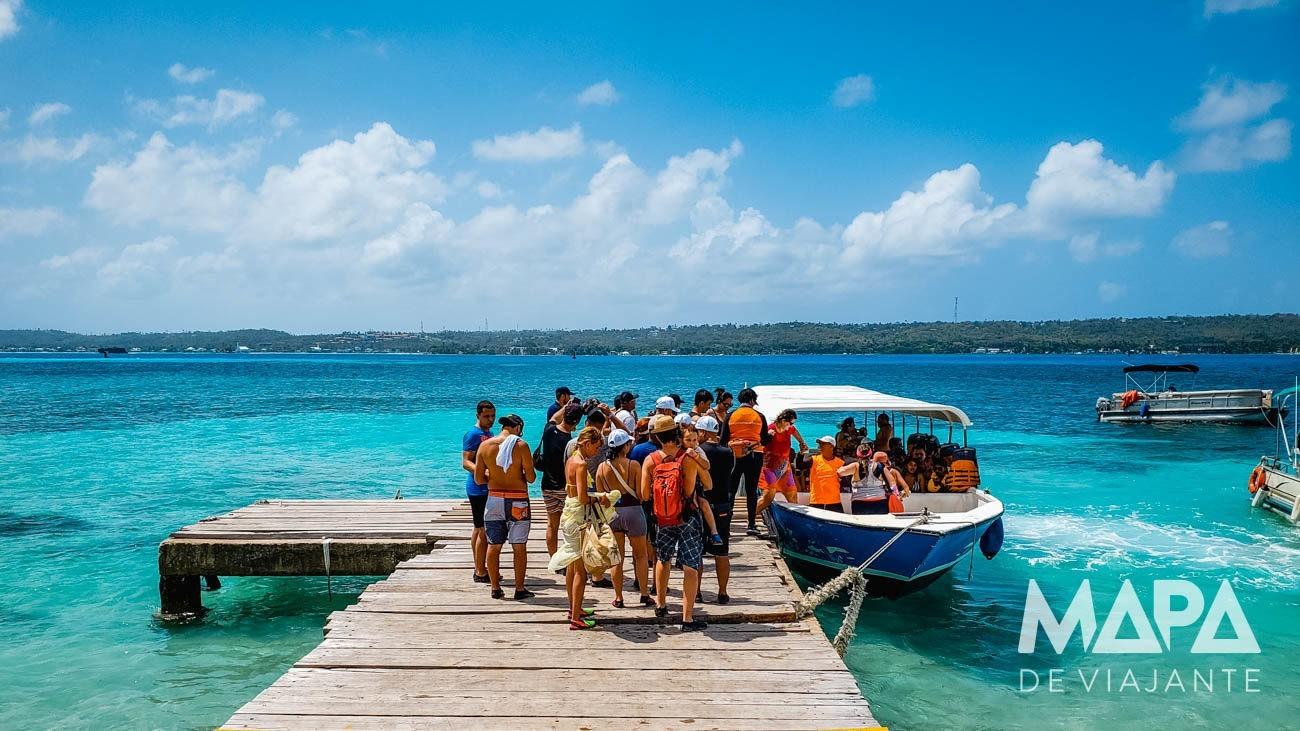 Haynes Cay Desembarque Mapa de Viajante