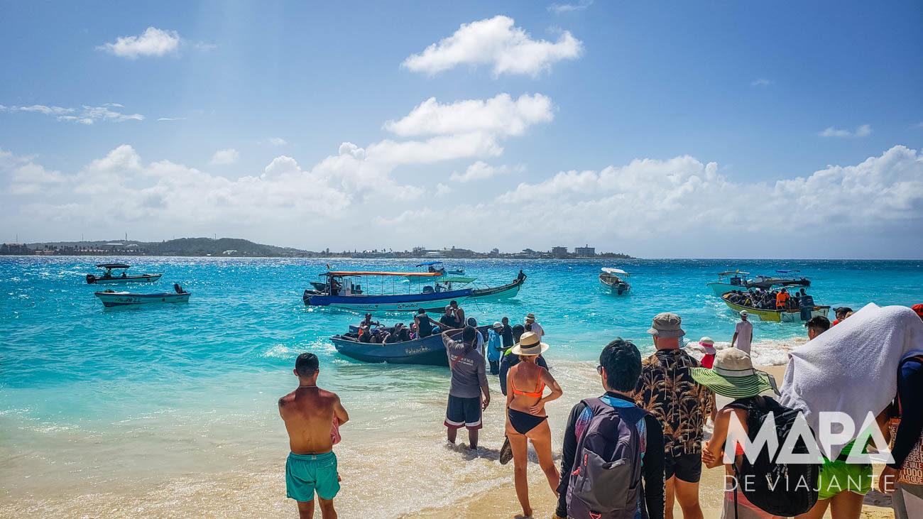 Ilha de Johnny Cay em San Andres