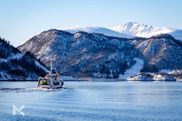 Passeio de Barco pesqueiro Fiordes Noruega