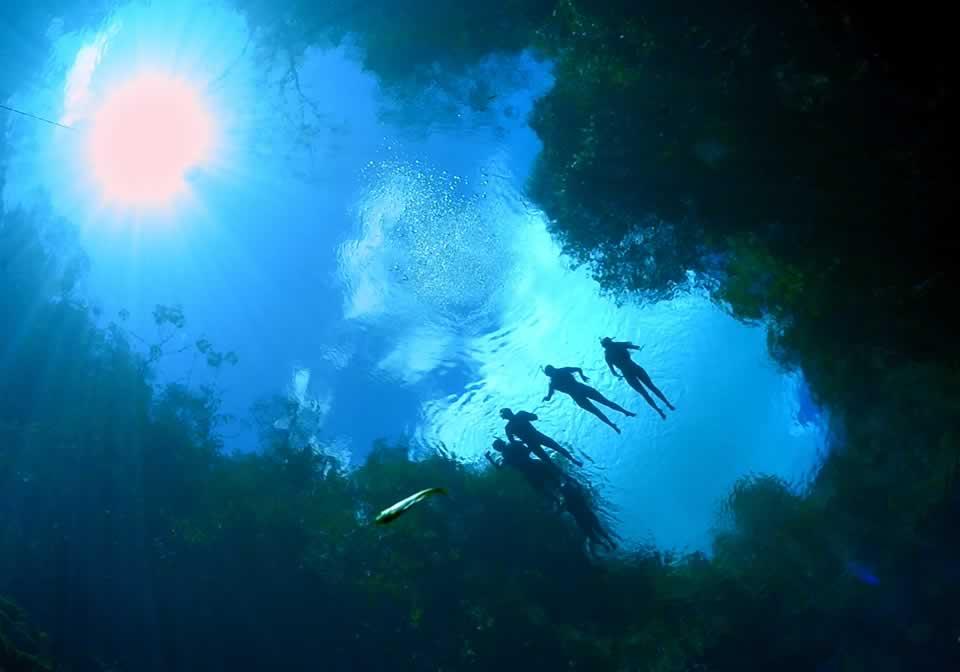 Lagoa Misteriosa em Bonito