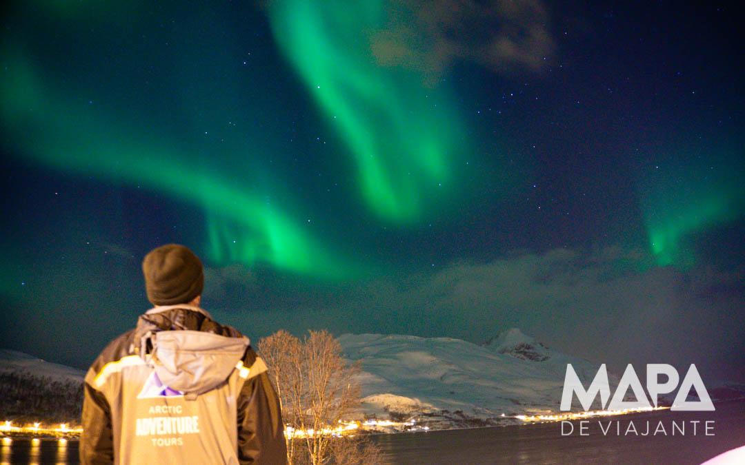 Onde ver Aurora Boreal Tromso Noruega