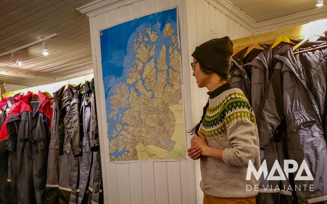 Mapa de Viajante em Tromso