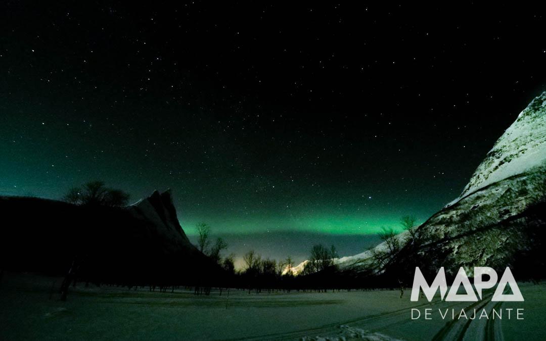 Foto da Aurora Boreal com Go Pro
