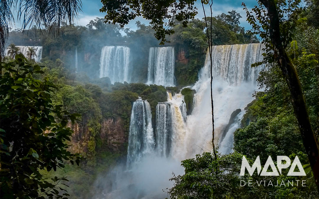 Cataratas de Foz do Iguaçu Mapa de Viajante