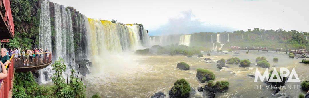 Foz do Iguaçu Mapa de Viajante
