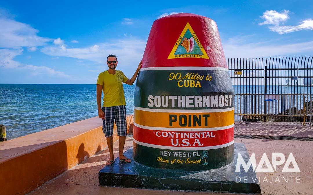 Southernmost Point Roteiro o que fazer Key West