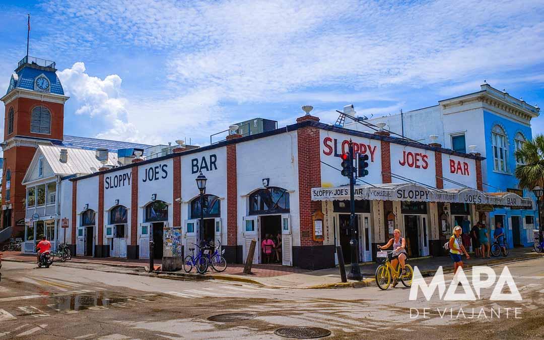 Onde comer em Key West Sloppy's Joe