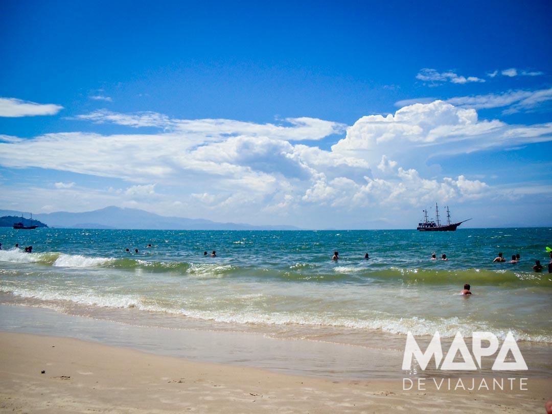 Praia de Canasvieiras | Mapa de Viajante