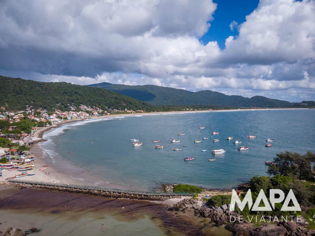 Praia da Armação Ilha | Praias de Florianópolis SC