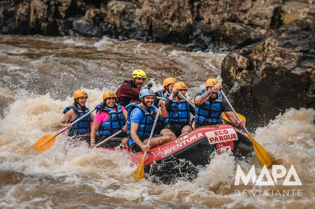 Rafting Rio das Antas Eco Parque Cia Aventura