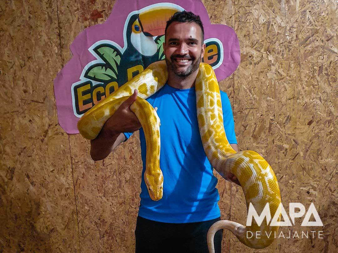 Cobra Piton Eco Parque